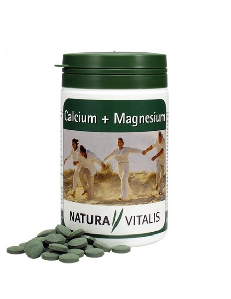 Spirulina + Wapń + Magnez - tabletki