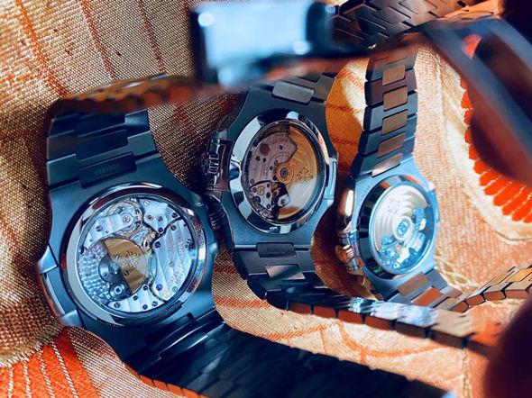 Back for Patek Philippe Nautilus replica watches